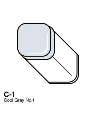 Маркер COPIC Classic двухсторонний, C1  цвет Cool Grey 1