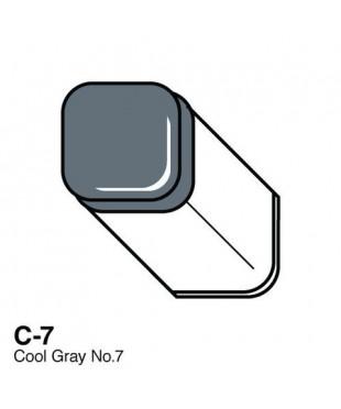 Маркер COPIC Classic двухсторонний, C7, цвет Cool Grey 7
