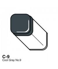 Маркер COPIC Classic двухсторонний C9,  цвет Cool Grey 9