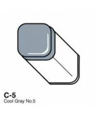 Маркер COPIC двухсторонний, C5, цвет Cool Grey 5