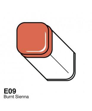 Маркер COPIC Classic двухсторонний,E09 цвет Burnt Sienna