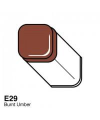 E29 Маркер COPIC двухсторонний, цвет Burnt Umber