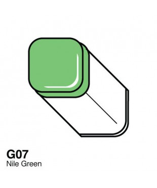 Маркер COPIC двухсторонний G07, цвет Nile Green