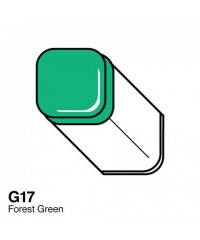 Маркер COPIC двухсторонний G17, цвет Forest Green