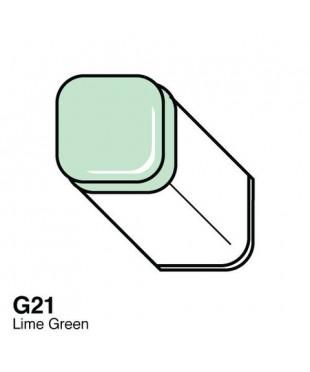 Маркер COPIC Classic двухсторонний,G21, цвет Lime Green