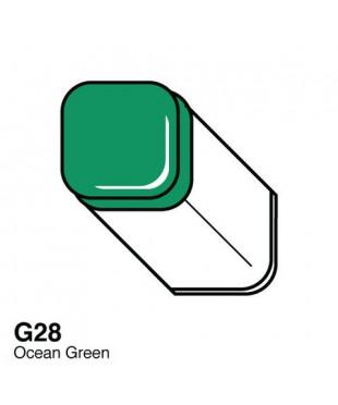 G28 Маркер COPIC двухсторонний, цвет Ocean Green