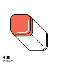 Маркер COPIC двухсторонний,R08, цвет Vermilion