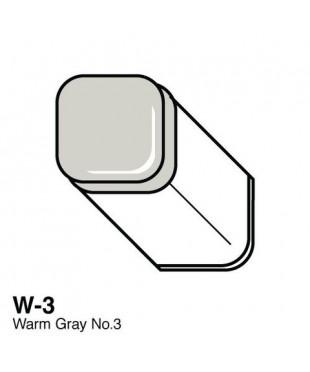 Маркер COPIC двухсторонний, W3, цвет Warm Grey 3