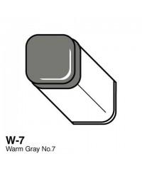 Маркер COPIC Classic двухсторонний, W7, цвет Warm Grey 7
