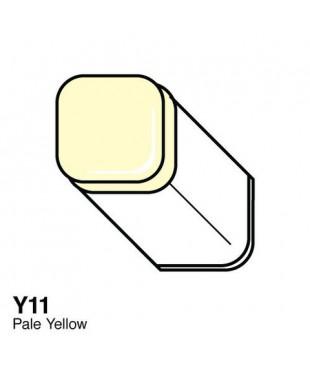 Маркер COPIC Classic двухсторонний Y11, цвет Pale Yellow