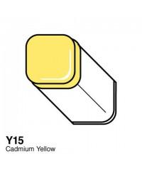 Маркер COPIC Classic двухсторонний,Y15, цвет Cadmium Yellow