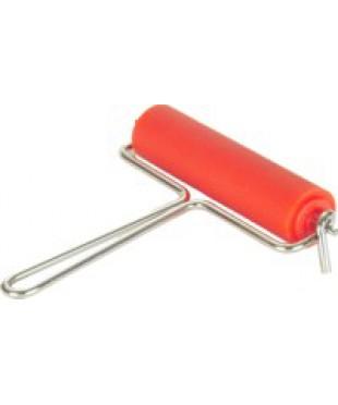 130300 ABIG Валик для офорта, размер 120х30мм, металл. ручка