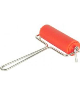 130200 ABIG Валик для офорта, размер 30х90 мм, металлическая ручка