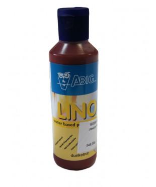 160580 ABIG Краска LINO на водной основе для линогравюр, 80 мл, цвет темно-красный