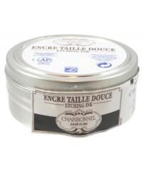 575028 Офортная краска Charbonnel цвет Black Luxe RSA, 200 мл, Франция