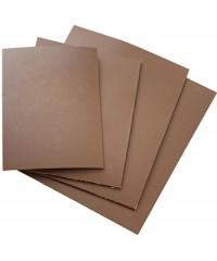 Линолеум для офорта, коричневый, размер 21х14,8 см