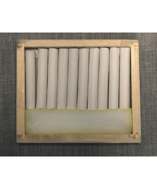 Соус белый 10 шт, деревянный пенал 08122015007