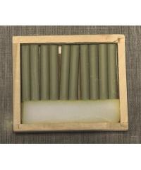 08122015010 Соус серый охристый, 10 шт, деревянный пенал