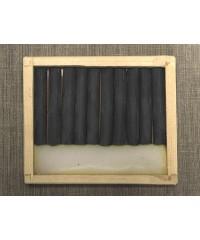Соус серый теплый, 10шт, деревянный пенал  08122015011
