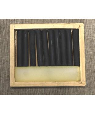 Соус серый 10 шт, деревянный пенал  08122015014
