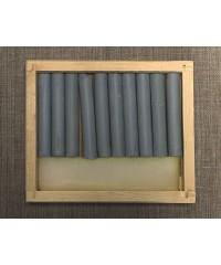 08122015015 Соус серый светлый, 10 шт., деревянный пенал