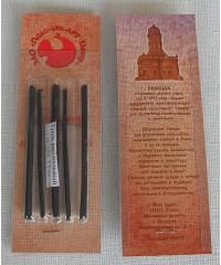 Уголь рисовальный, 08122015037 5 шт, в блистере, толщина 3-5 мм