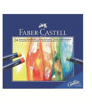 Набор масляной пастели Faber-Castell, 24 цвета, 127024