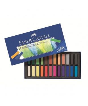 128224 Набор мягких мини мелков Faber-Castell, 24 цвета