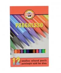 8756012007PZ Набор  цветных карандашей 12цв.,в лаке, без дерева, в картонной упак.