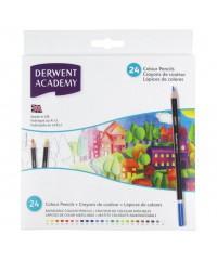 2300089 DERWENT Набор цветных карандашей, 24 цвета, в картоне