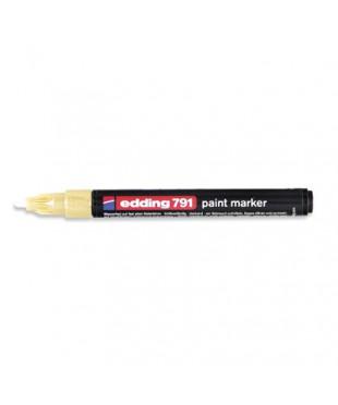 48288 Маркер paint (лак) EDDING E-791/53 золотой 1-2 мм