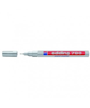 53774 Маркер paint (лак) EDDING E-780/54 серебро, 0,8 мм