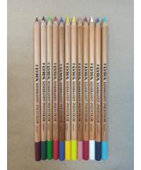 Lyra Polycolor Набор цветных карандашей Rembrandt 12 цветов в крафт упаковке
