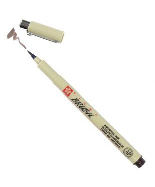 Ручка-кисточка PIGMA BRUSH, цвет коричневый, XSDK-BR#117