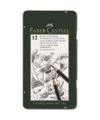 Карандаш чернографитный Faber-Castell,  Castell -9000