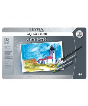 L5611480 Восковые акварельные мелки 48 цветов LYRA Aquacolor