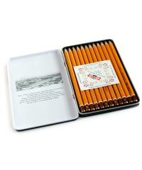"""1502012007PL KOH-I-NOOR 1502/1 Набор профессиональных чернографитных карандашей, 12 шт. """"Technic"""""""