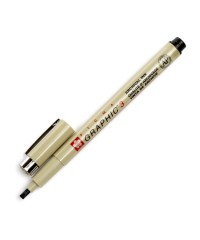 XSDK3#49 Линер-маркер для подписи PIGMA GRAPHIC 3, черный 3,0 мм
