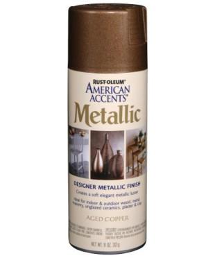 243897 Краска с эффектом состаренного металла, цвет aged copper, 312г аэрозоль