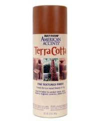 Краска с эффектом терракота,  7905830  цвет Clay pot, 340г, аэрозоль