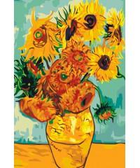 "DI-5034 Картина со стразами ""Цветы"", размер 40х50 см"