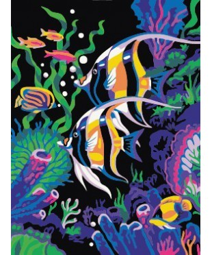 """Картина со стразами """"Море"""", размер 40х50 см  DI-E080"""