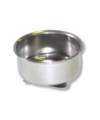 DK11001 Масленка металлическая одинарная, диаметр 4,5см, высота 1,7см