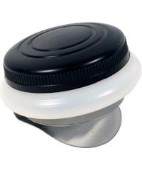 Масленка пластиковая одинарная с крышкой, диаметр 5см, DK11003