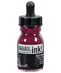 Художественные акриловые чернила Liquitex 4260115  стеклянная баночка с носиком, 30 мл, фиолетовый