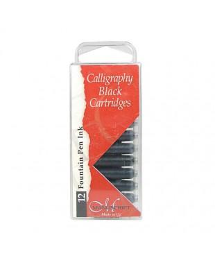 Чернила черные в картридже, 12 шт., Manuscript, 0461