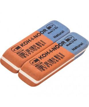 Ластик KOH-I-NOOR 6521/40, комбинированный, каучуковый, 652140
