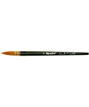 QD15 Roubloff Кисть колонок микс № 4, ручка короткая черная матовая