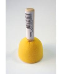 А10502-4 э Кисть - губка круглая,поролон,диам.50мм,дерев.ручка