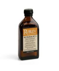 530-12103  Oil Medium №3  Полимеризованное Льняное Масло и Минеральный спирт РУБЛЕВ